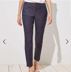 Loft ankle length dress pants